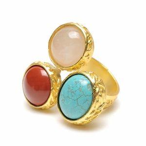 Amrita Singh Marseille Cocktail Ring, Size 7